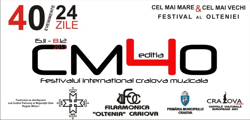 promo Festival International Craiova Muzicala 15 nov - 8 dec 2013